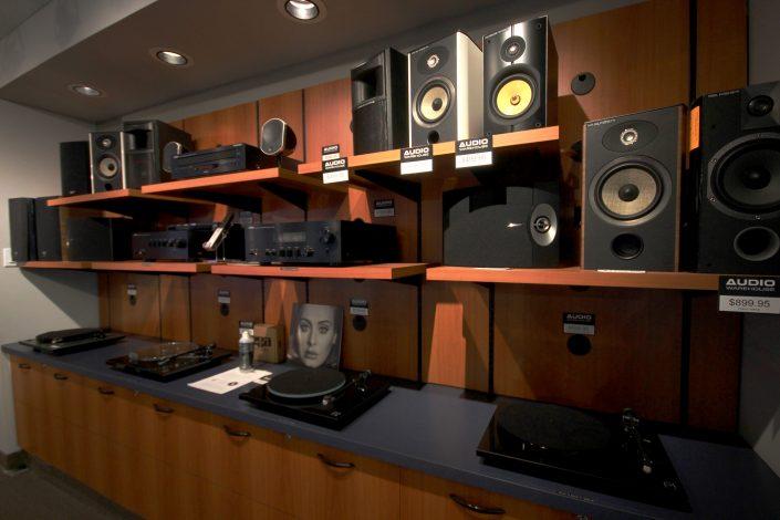 Audio Warehouse Speaker Turntables