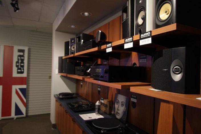 Audio Warehouse Turntables