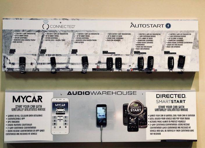 audio warehouse car starter